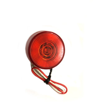 50mm Round Red Marker – 24v