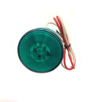 50mm Round Green Marker – 24v