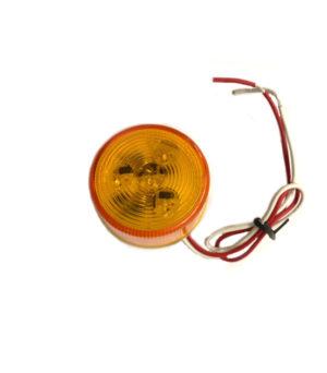 50mm Round Amber Marker – 24v