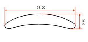 DIE 2090 – Half Round – 38.2