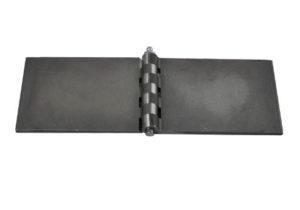 Straight Hinge – 80mm x 50mm – With Grease Nipple
